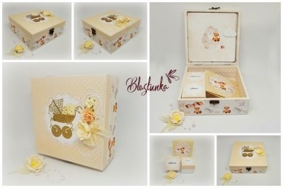 Babies treasures boxes