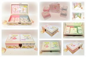 Babies and children's treasures boxes