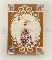 "Greeting card ""Еmbroidery"""