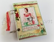 "Recipe book ""Vintage cuisine"""
