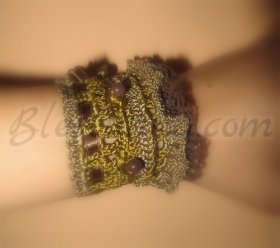 "Bracelet ""Brown temptation"""
