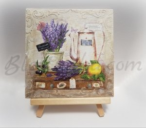 "Canvas ""Lavender morning"""