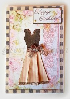 "Greeting card ""Chic"""