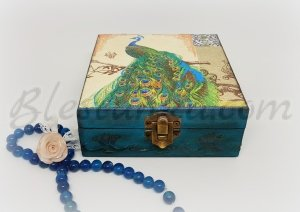 "Wooden jewellery box ""Orient"""