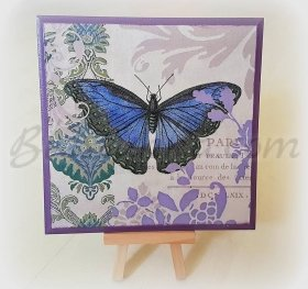 "Wooden board ""Butterfly"""