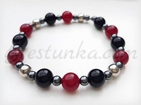 "Bracelet ""Red and black"""
