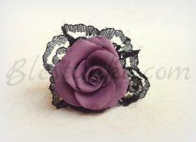 "Ring ""Purple rose"""