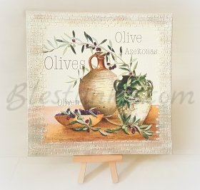"Canvas ""Olive Branch"""