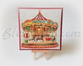 "Wooden board ""Carousel"""