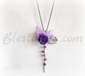 "Necklace ""Violet"""