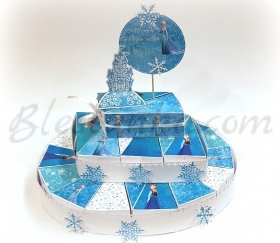 "Paper cake ""Winter's beauty"""