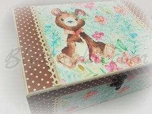 "Baby`s Treasures Box ""Sweet bear"""
