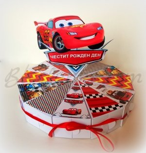 "Paper cake ""Cars"""