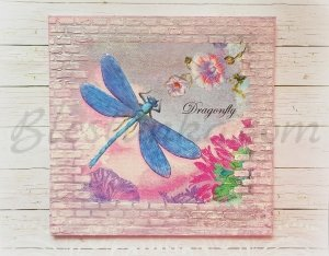 "Canvas ""My dragonfly"""