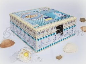 "Baby`s Treasures Box ""Marine adventure"""