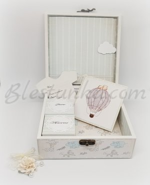 "Baby`s Treasures Box ""Balloon ride"""
