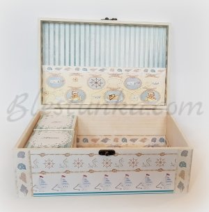 "Baby`s Treasures Box ""Marine adventure"" - big"