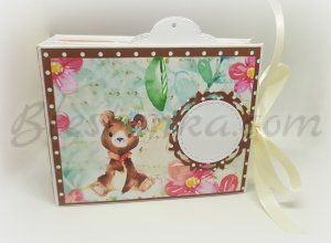 "Baby`s Treasures Box ""Sweet bear"" - big"