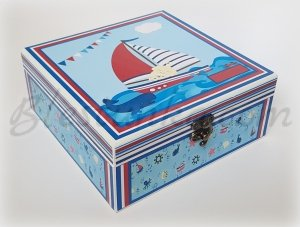 "Baby`s Treasures Box ""Marine adventure"" 2"