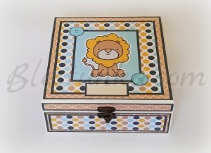 "Baby`s Treasures Box ""Little lion"""