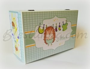 "Baby`s Treasures Box ""Little hadgehog"" - big"