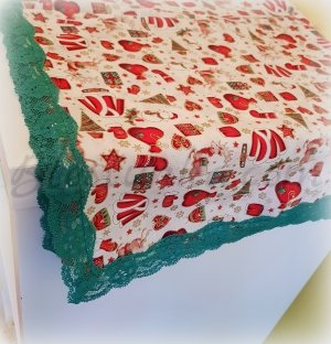 "Table runner ""Fairytale Christmas"""