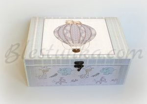 "Baby`s Treasures Box ""Balloon ride"": big"