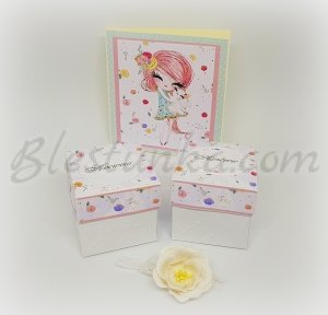 "Baby`s Memories Box ""The girl with the rabbit"""