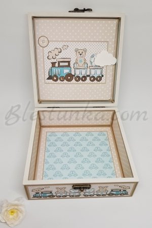 "Baby`s Memories Box ""Little bear"""