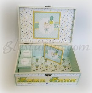 "Baby`s Memories Box ""Little train"" - big"