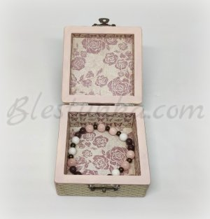 "Wooden jewellery box ""Expectation"""